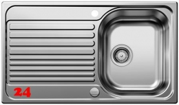 BLANCO Toga 45 S SONDER [513603] Edelstahlspüle / Einbauspüle mit Drehknopfventil
