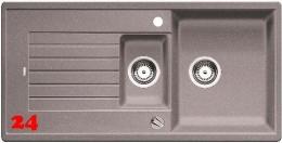 BLANCO Küchenspüle Zia 6 S Silgranit® PuraDur®II Granitspüle / Einbauspüle mit Drehknopfventil in 9 Farben