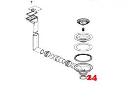 BLANCO Flex pro Ablaufgarnitur Komplett (232250)