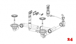 FRANKE Argos Ablaufgarnitur Komplett (1120056332)