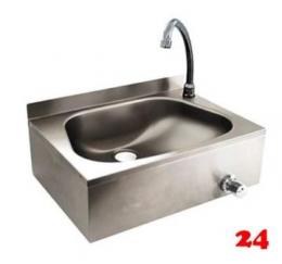 AfG Handwaschbecken mit Kniebedienung HWB-4 zur Wandbefestigung inklusive Kniearmatur