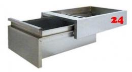 AfG Unterbauschublade für GN 1/1-150-SL17 Ausführung als Vollschublade passend für Gastronorm