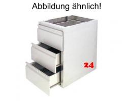 AfG Schubladenblock mit 2 Schubladen GN 1/1-200 SL27 Ausführung als Vollschublade passend für Gastronorm