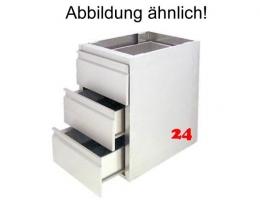 AfG Schubladenblock mit 5 Schubladen SL57 Ausführung als Vollschublade passend für Backnorm 400x600mm