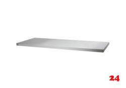 AfG Tischplatte allseitig abgekantet 1200x600 TP126 verschweißte Ausführung 4-seitig mit Tropfkante