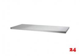 AfG Tischplatte allseitig abgekantet 3100x600 TP316 verschweißte Ausführung 4-seitig mit Tropfkante
