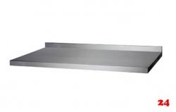 AfG Tischplatte mit Aufkantung 3500x600 TP356A verschweißte Ausführung 3-seitig mit Tropfkante