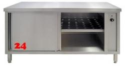 AfG Umluftwärmeschrank mit Schiebetüren (B1100xT600) WS116 verschweißte Ausführung