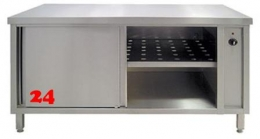 AfG Umluftwärmeschrank mit Schiebetüren (B1700xT600) WS176 verschweißte Ausführung