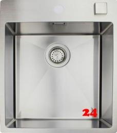 {Lager} BERNUS CUBIXX 400 SOFT HLB Küchenspüle / Edelstahlspüle Siebkorb als Drehknopfventil