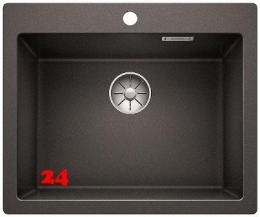 BLANCO Küchenspüle Pleon 6 Silgranit® PuraDur®II Granitspüle / Einbauspüle Ablaufsystem InFino mit Drehknopfventil