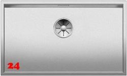 BLANCO Küchenspüle Zerox 700-U Durinox® Edelstahlspüle / Unterbauspüle mit Ablaufsystem InFino und Handbetätigung
