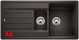 BLANCO Küchenspüle Legra 6 S Silgranit® PuraDur®II Granitspüle / Einbauspüle mit Handbetätigung in 6 Farben