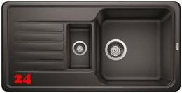 BLANCO Küchenspüle Favos 6 S Silgranit® PuraDur®II Granitspüle / Einbauspüle mit Handbetätigung in 6 Farben