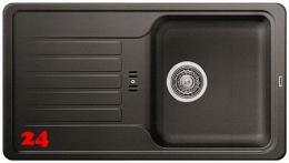BLANCO Küchenspüle Favos Mini Silgranit® PuraDur®II Granitspüle / Einbauspüle mit Handbetätigung in 6 Farben