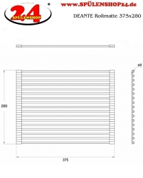 DEANTE Rollmatte 375x280