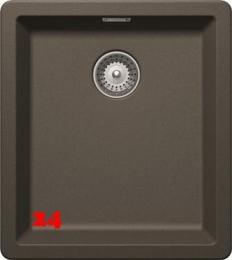 SCHOCK Küchenspüle Greenwich N-100S-U Cristadur® Nano-Granitspüle / Unterbauspüle in 8 Farben mit Drehexcenter