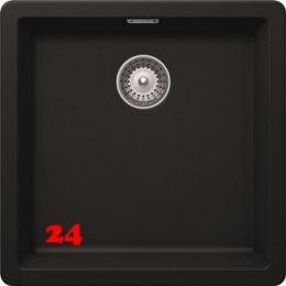x SCHOCK Küchenspüle Greenwich N-100-U Cristadur® Nano-Granitspüle / Unterbauspüle in 8 Farben mit Drehexcenter