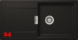 SCHOCK Küchenspüle Mono D-100L Cristadur® Nano-Granitspüle / Einbauspüle in 9 Farben mit Drehexcenter