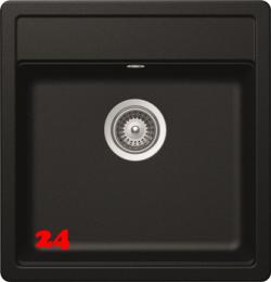 SCHOCK Küchenspüle Mono N-100S Cristadur® Nano-Granitspüle / Einbauspüle in 9 Farben mit Drehexcenter
