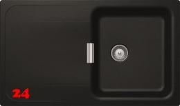 SCHOCK Küchenspüle Wembley D-100 Cristadur® Nano-Granitspüle / Einbauspüle in 8 Farben mit Drehexcenter