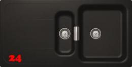 SCHOCK Küchenspüle Wembley D-150 Cristadur® Nano-Granitspüle / Einbauspüle in 8 Farben mit Drehexcenter