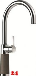 SCHOCK Küchenarmatur SC-520 Cristadur® Classic Line Einhebelmischer Festauslauf 360° schwenkbarer Auslauf mit Materialhülse in 9 Farben