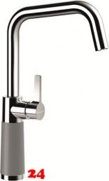 SCHOCK Küchenarmatur SC-530 Cristalite® Basic Line Einhebelmischer Festauslauf 360° schwenkbarer Auslauf mit Materialhülse in 4 Farben