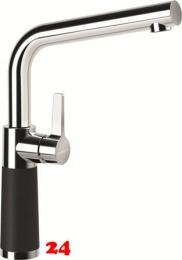 SCHOCK Küchenarmatur SC-540 Cristalite® Basic Line Einhebelmischer Festauslauf 360° schwenkbarer Auslauf mit Materialhülse in 4 Farben