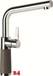 SCHOCK Küchenarmatur SC-540 Cristadur® Classic Line Einhebelmischer Festauslauf 360° schwenkbarer Auslauf mit Materialhülse in 9 Farben