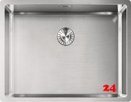 FRANKE Küchenspüle Box BXX 210/110-50 Einbauspüle 3 in 1 Siebkorb als Zugknopfventil