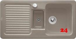 Villeroy & Boch CONDOR 60-Premiumline Einbauspüle / Keramikspüle in 4 Sonder Farben