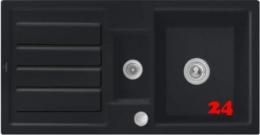 Villeroy & Boch FLAVIA 60-Premiumline Einbauspüle / Keramikspüle in 4 Sonder Farben