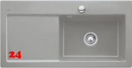 Villeroy & Boch SUBWAY 60 XL BR-Classicline Einbauspüle / Keramikspüle in 9 Standard Farben