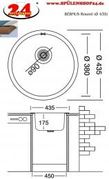 BERNUS Round (Ø 435)