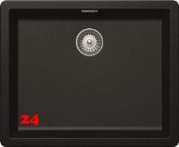 SCHOCK Küchenspüle Greenwich N-100L-FB Cristadur® Nano-Granitspüle flächenbündig in 4 Farben mit Drehexcenter