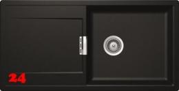 SCHOCK Küchenspüle Mono D-100L-FB Cristadur® Nano-Granitspüle flächenbündig in 4 Farben mit Drehexcenter