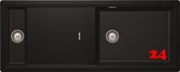 SCHOCK Küchenspüle Prepstation D-150-FB Cristadur® Nano-Granitspüle flächenbündig in 4 Farben mit Drehexcenter