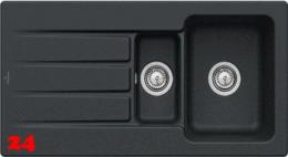 Villeroy & Boch ARCHITECTURA 60 XR-Premiumline Einbauspüle / Keramikspüle in 4 Sonder Farben