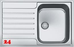 FRANKE Küchenspüle Argos AGX 211-78 Einbauspüle Slimtop / Flächenbündig mit Druckknopfventil