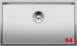 BLANCO Küchenspüle Zerox 700-IF Durinox® Edelstahlspüle Flachrand mit Ablaufsystem InFino und Handbetätigung