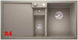BLANCO Collectis 6 S Silgranit® PuraDur®II Granitspüle / Einbauspüle Ablaufsystem InFino mit Drehknopfventil
