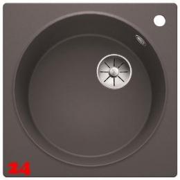 BLANCO Küchenspüle Artago 6 Silgranit® PuraDur®II Granitspüle / Einbauspüle Ablaufsystem InFino mit Handbetätigung