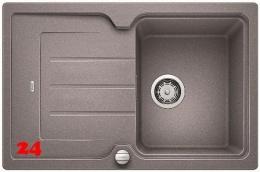 {Lager} BLANCO Küchenspüle Classic Neo 45 S Silgranit® PuraDur®II Granitspüle / Einbauspüle Farbe Alumetallic