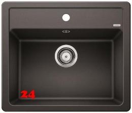 BLANCO Küchenspüle Legra 6 Silgranit® PuraDur®II Granitspüle / Einbauspüle mit Handbetätigung in 6 Farben
