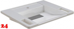 FRANKE EXOS Einzelwaschtisch ANMW0001 Waschtisch MIRANIT für Wandmontage unterfahrbar Barrierefrei*