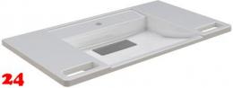 FRANKE EXOS Einzelwaschtisch ANMW0002 Waschtisch MIRANIT für Wandmontage unterfahrbar Barrierefrei*