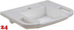 FRANKE EXOS Einzelwaschtisch ANMW0003 Waschtisch MIRANIT für Wandmontage Barrierefrei*