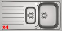 FRANKE Küchenspüle Spark SKX 651 Einbauspüle mit Drehknopfventil