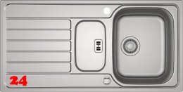 FRANKE Küchenspüle Spark SKX 681 Einbauspüle Siebkorb als Drehknopfventil